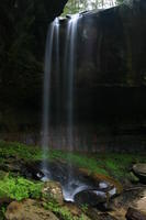 Salt Lick Creek Falls-take Princess Falls trail(SHeltowee Trace trail to salt lick trail) go 1 mile